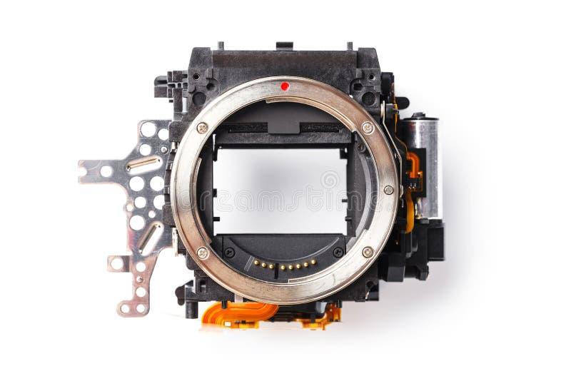 Boîte de miroir d'appareil photo numérique photos stock