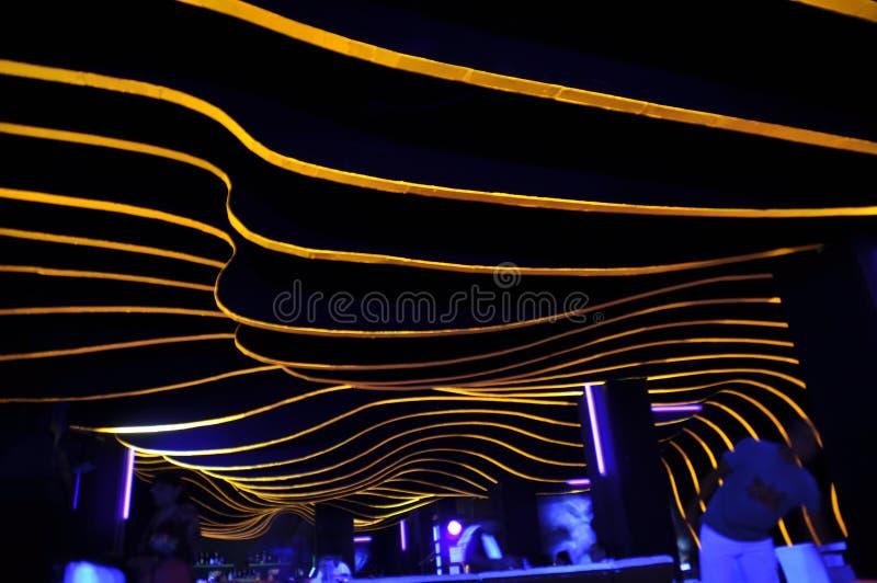 Boîte de nuit abstraite image stock