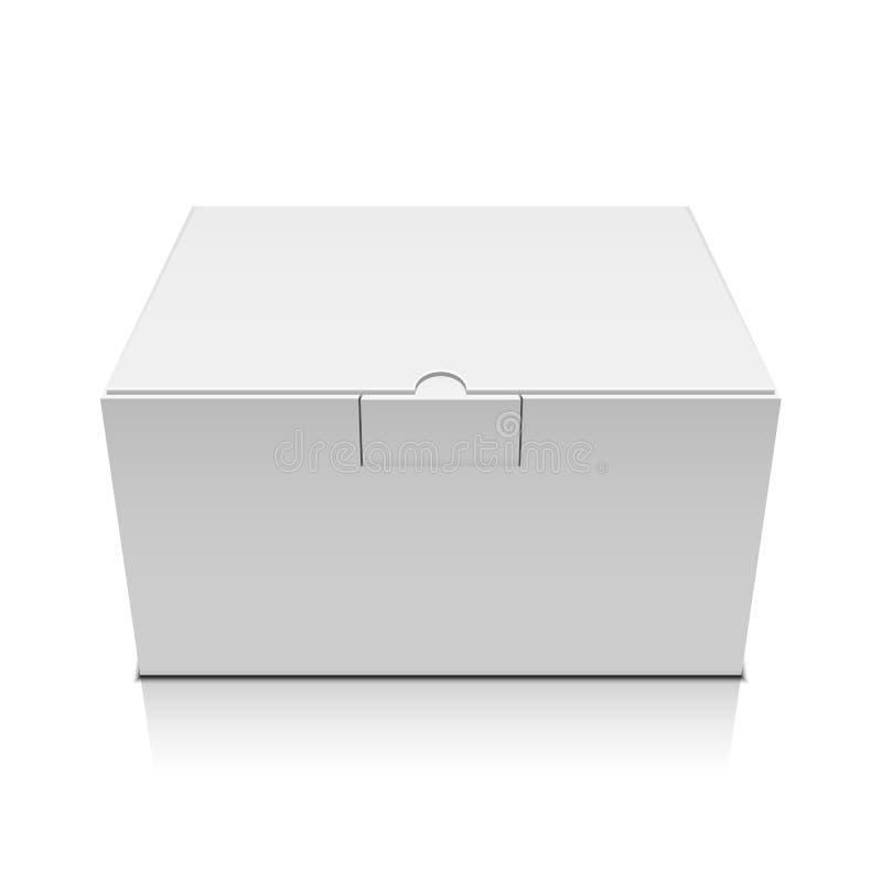Boîte de paquet illustration libre de droits
