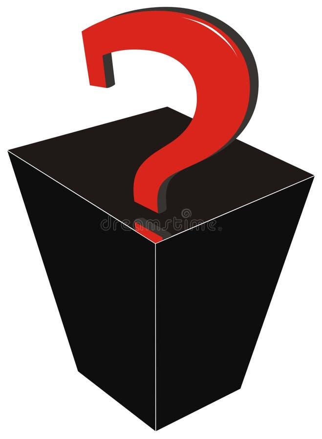Boîte de substitution de `de Pandore illustration stock