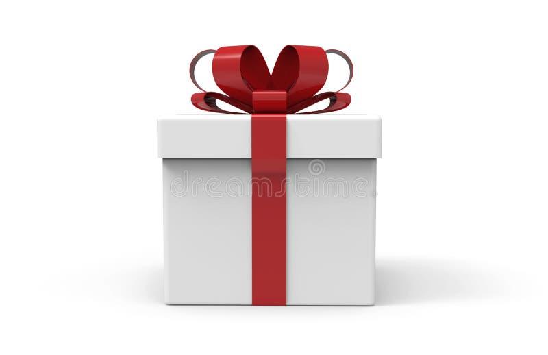 boîte du présent 3d illustration stock