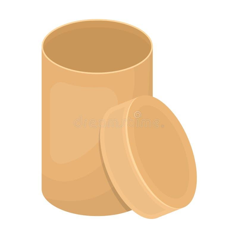 Boîte, emballage, papier, et toute autre icône de Web dans le style de bande dessinée Shell, cadre, cas, icônes dans la collectio illustration de vecteur