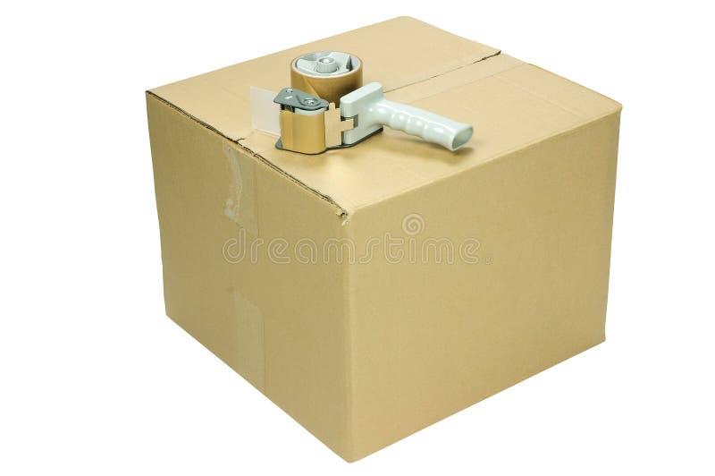 Boîte en carton photo libre de droits