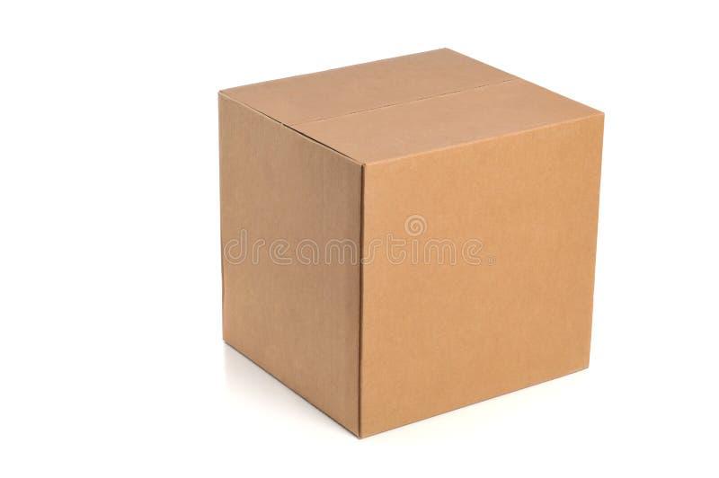 Boîte en carton image stock