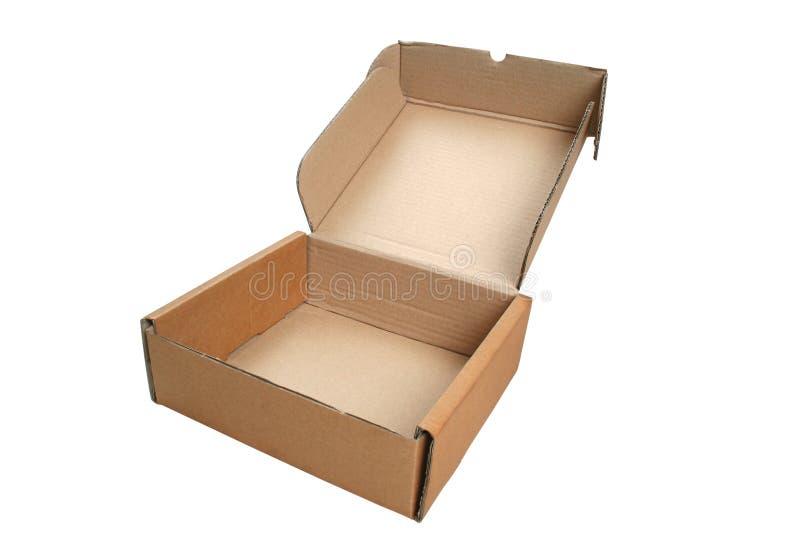 Boîte en carton 3 images libres de droits