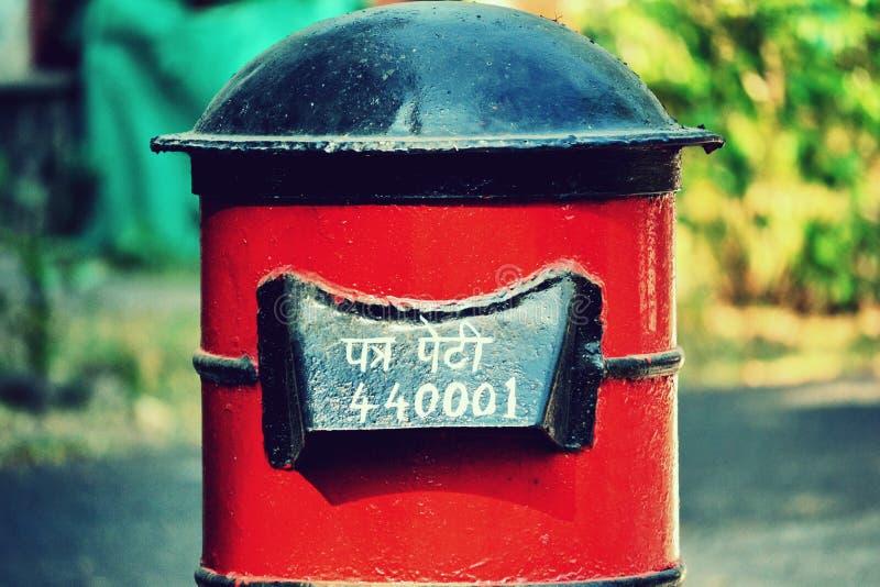 Boîte indienne de courrier photo stock