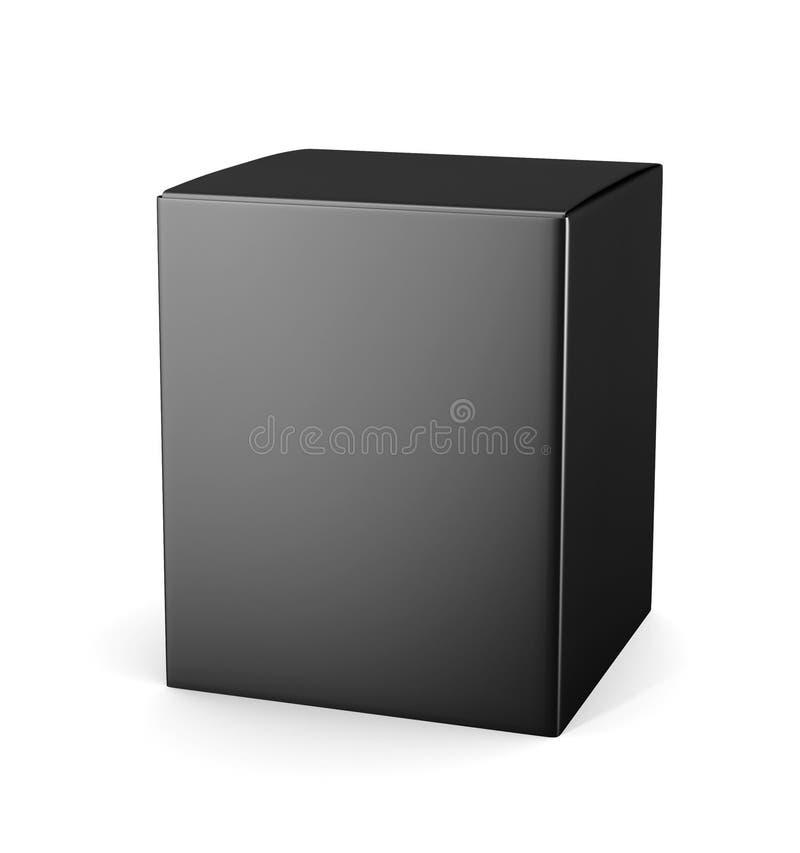Download Boîte Noire De Paquet De Carton De Calibre Pour L'isola Cosmétique De Produits Illustration Stock - Illustration du cosmetics, drogue: 77152320