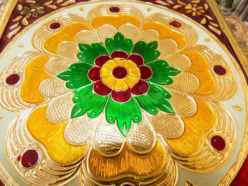 Boîte sèche arrondie à fruits de sembler de Rajasthani belle photo libre de droits