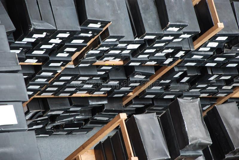 Boîtes à chaussures images libres de droits