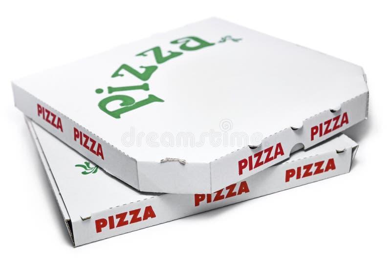 Boîtes à pizza photo libre de droits
