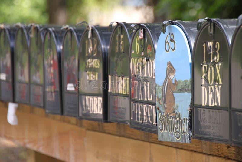 Boîtes aux lettres photos libres de droits