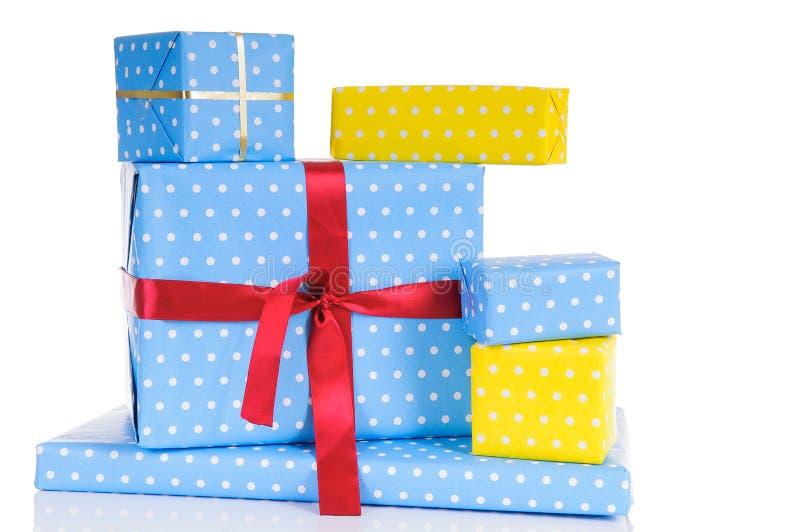 Boîtes-cadeau de Noël photos stock