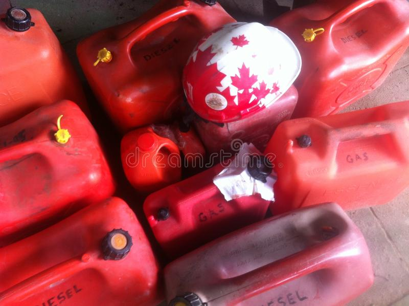 Boîtes de gaz photo libre de droits