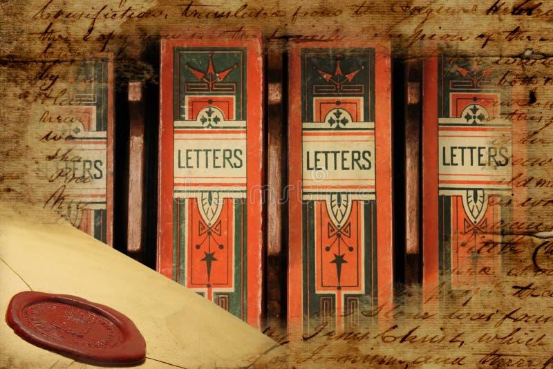 Boîtes de lettre archivistiques victoriennes image libre de droits