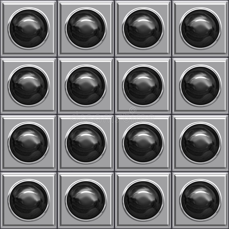 boîtes noires de bille illustration stock