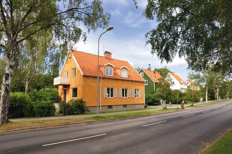 Boîtier suédois photos libres de droits
