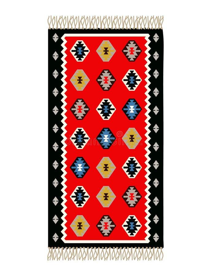 bośniaka dywan ilustracji