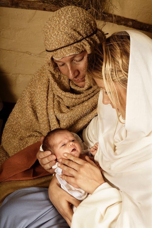 boże narodzenia żyją obrazy stock