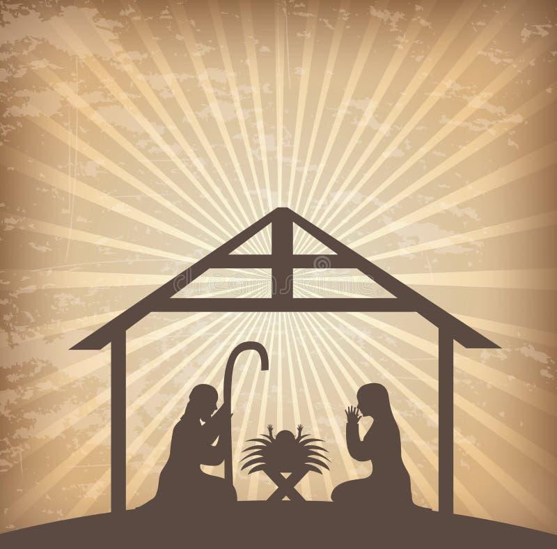 Boże Narodzenia ilustracja wektor
