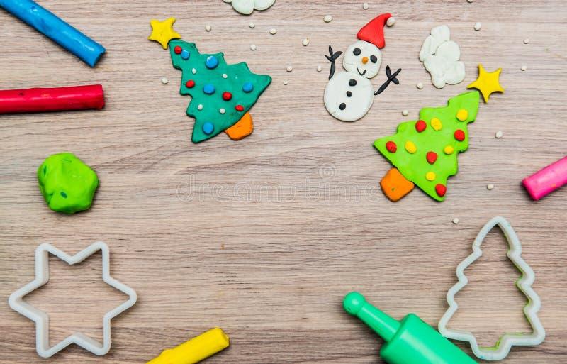 Boże Narodzenia dla dzieciaków i sztuki obraz stock