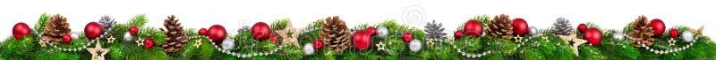 Boże Narodzenia graniczą, dodatek szeroki obraz royalty free