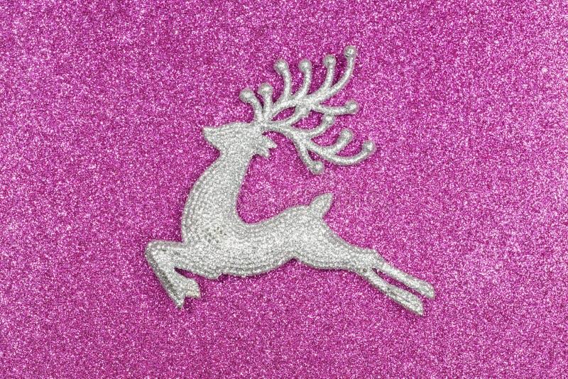 Boże Narodzenia i nowego roku jeleń obraz royalty free