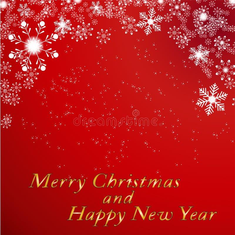 Boże Narodzenia i nowy rok dla wakacyjnego tła Wektorowy illustrati ilustracji