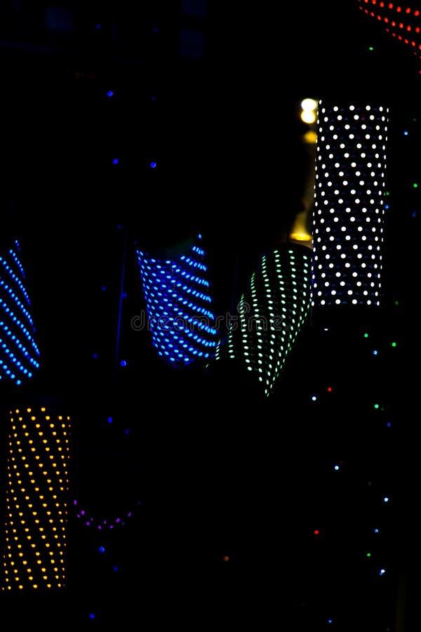 Boże Narodzenia i przyjęć światła pewny typ zdjęcia royalty free