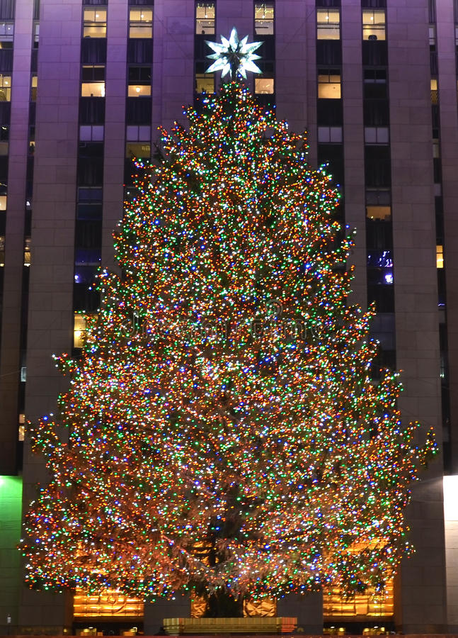 boże narodzenia nowy drzewny York zdjęcia stock