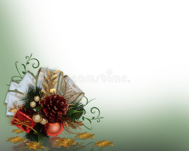 boże narodzenia osaczają dekoracja projekt royalty ilustracja