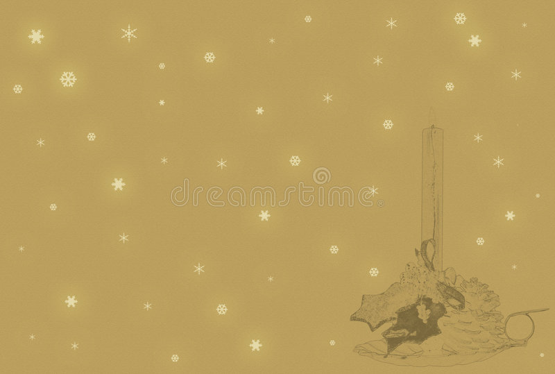 boże narodzenia pergaminowi ilustracja wektor