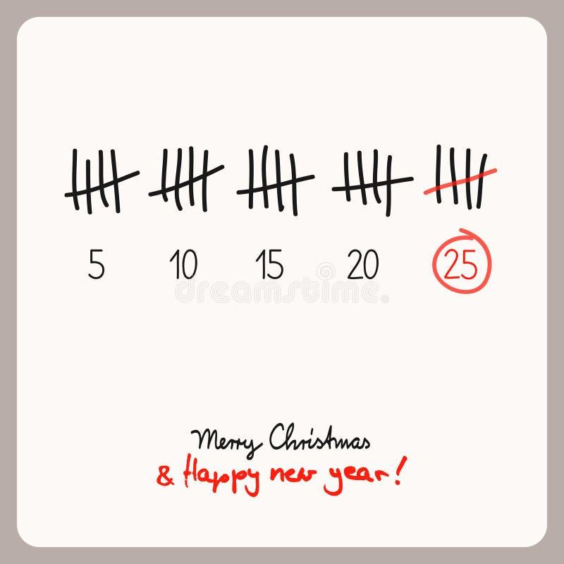 Boże Narodzenia porządkują - szablon dla boże narodzenie projekta ilustracji