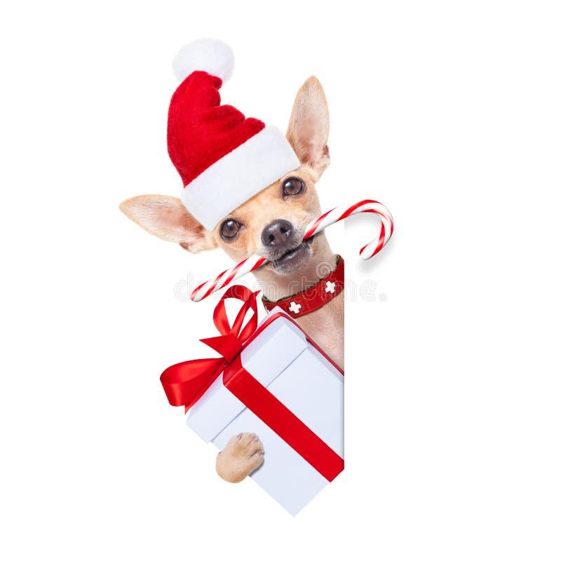 Boże Narodzenia są prześladowanym jako Santa Claus obraz stock
