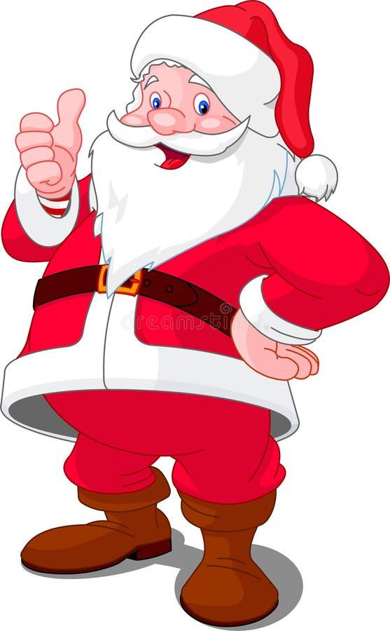 boże narodzenia szczęśliwy Santa royalty ilustracja
