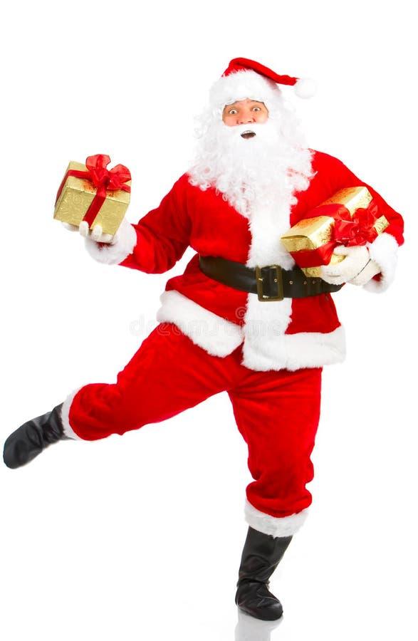 boże narodzenia szczęśliwy Santa obraz stock
