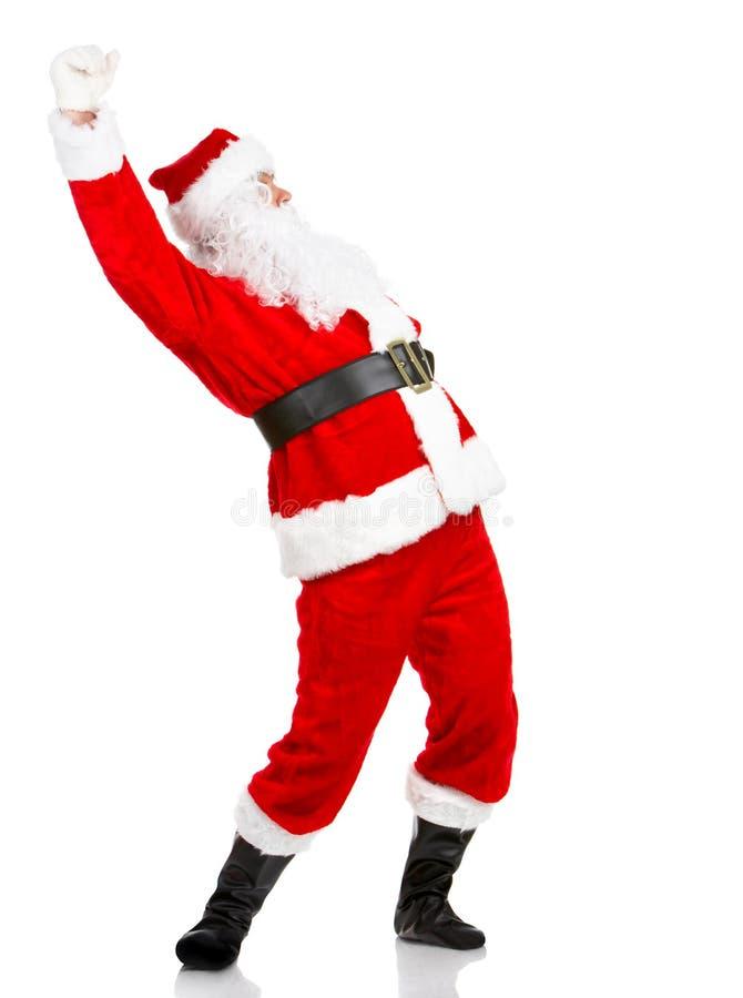 boże narodzenia szczęśliwy Santa zdjęcie royalty free