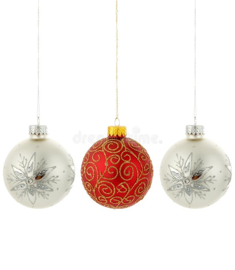 boże narodzenia target122_1_ ornamenty drzewnych zdjęcia royalty free