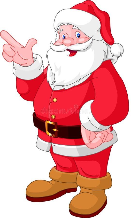 boże narodzenia target1448_0_ Santa royalty ilustracja
