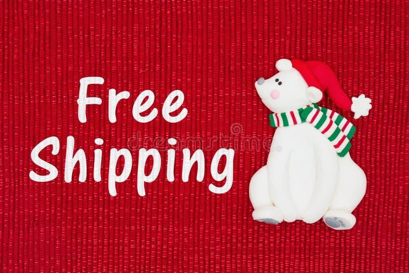 Boże Narodzenia Uwalniają wysyłki wiadomość zdjęcia royalty free