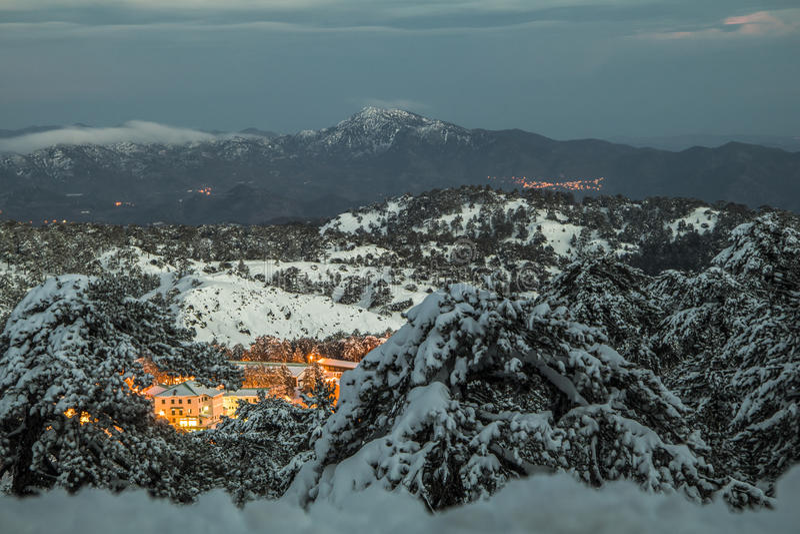 Boże Narodzenia w Cypr zdjęcie stock