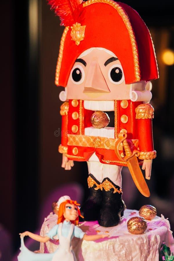 Boże Narodzenia zasychają dziadka do orzechów zdjęcia royalty free