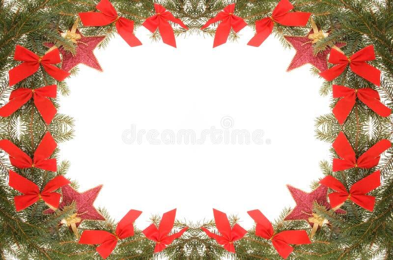 boże narodzenie świąteczna rama obraz stock