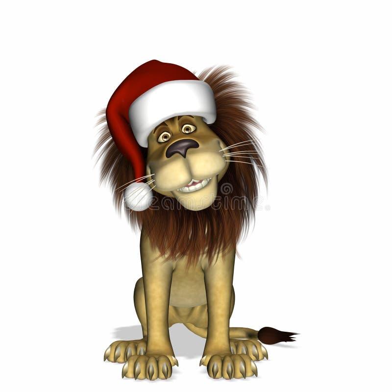 Boże Narodzenie (1) lew royalty ilustracja