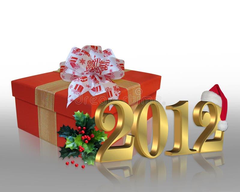 Boże Narodzenie 2012 wakacje ilustracji