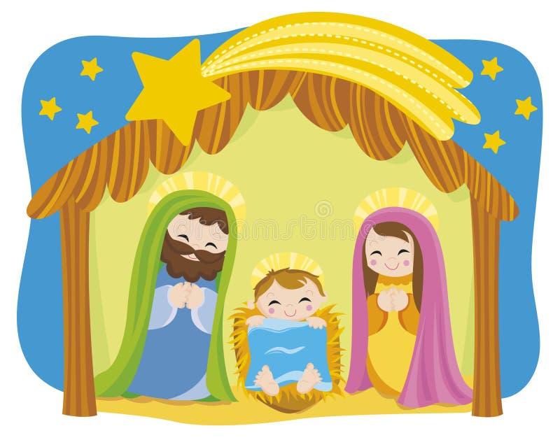 boże narodzenie royalty ilustracja