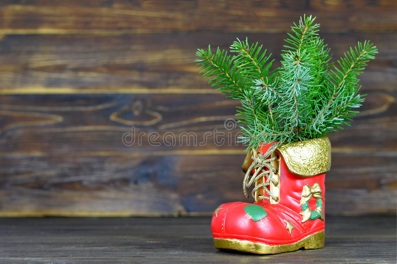 Boże Narodzenie but obrazy royalty free