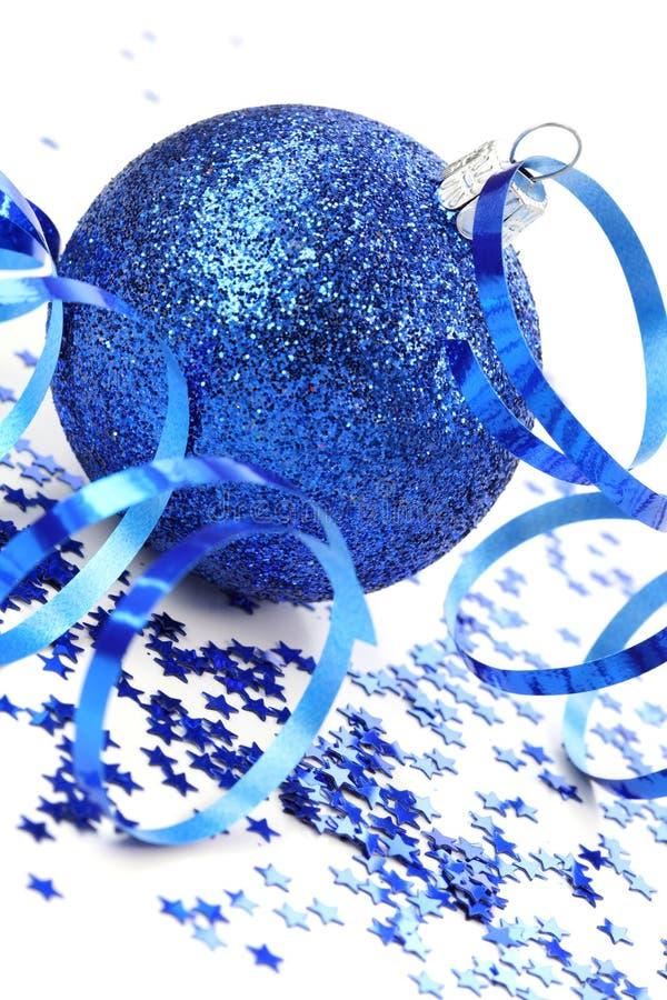 boże narodzenie błękitny dekoracja obrazy royalty free
