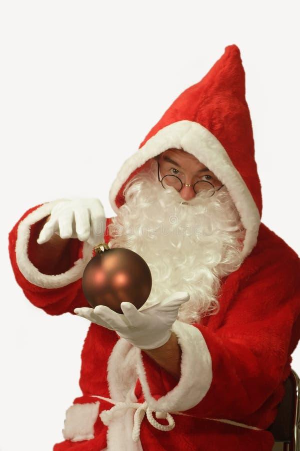 boże narodzenie dekoracja Santa obraz royalty free