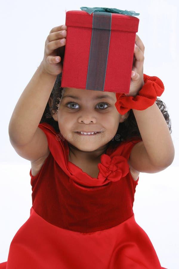 boże narodzenie dziewczyna zdjęcie stock
