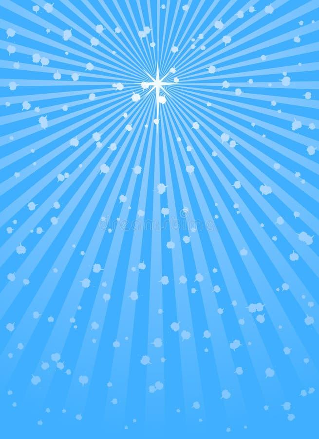 boże narodzenie gwiazda royalty ilustracja